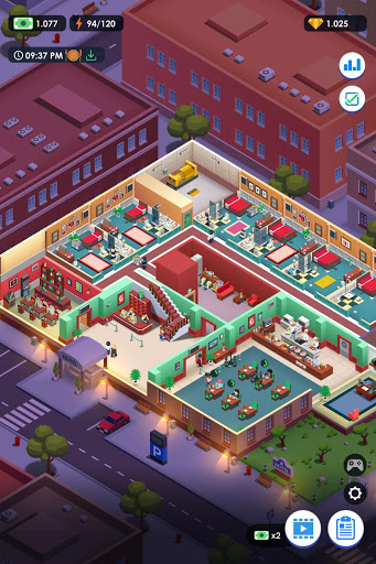 Hotel Empire Tycoon - Trình mô phỏng quản lý trò chơi nhàn rỗi