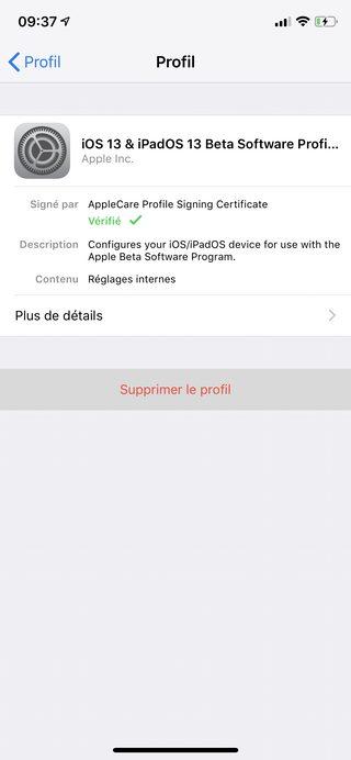 iphone xóa hồ sơ beta công khai Làm thế nào để gỡ cài đặt beta từ iOS 13 hoặc iPadOS?