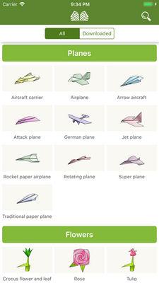 giấy origami nghệ thuật 3d2
