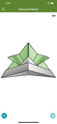 giấy origami nghệ thuật 3d1