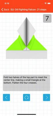 cách làm máy bay giấy2