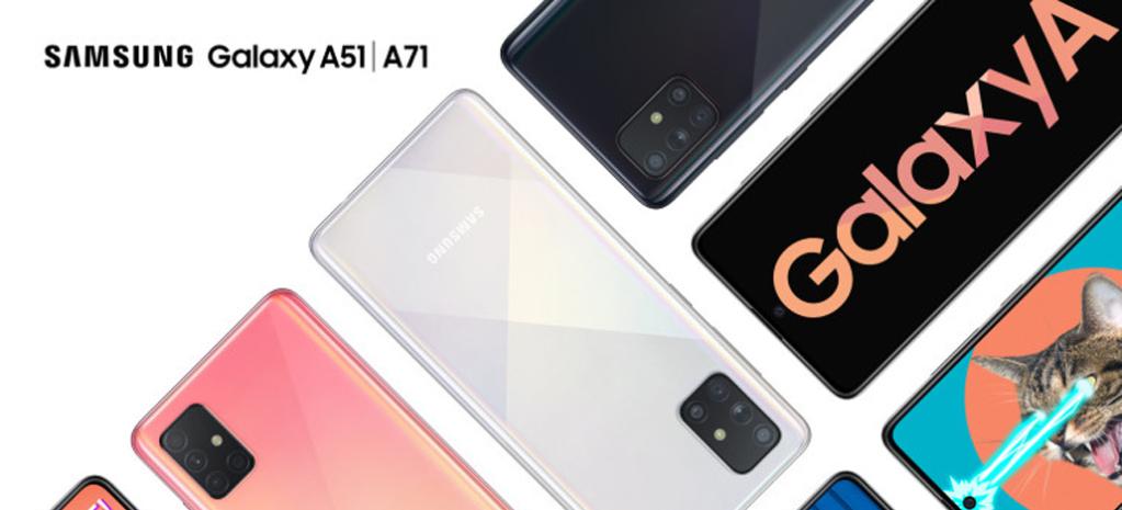 Samsung Galaxy A51 và A71 đã được công bố tại một sự kiện của công ty Hàn Quốc tại Việt Nam (Ảnh: Samsung)