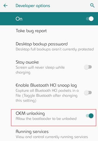 Cách mở khóa Bootloader trên Nokia 6.2