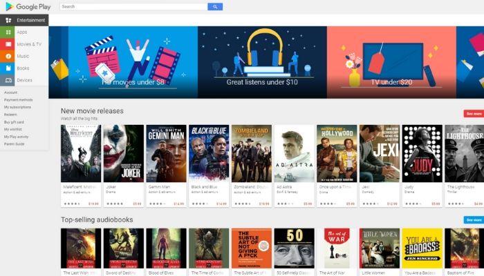 Chạy ứng dụng Android Mac Google Play