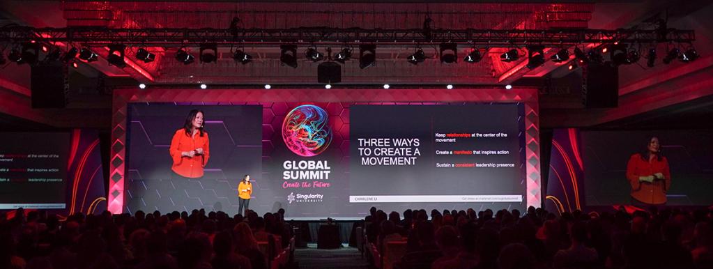 Hội nghị thượng đỉnh toàn cầu Singularity mở rộng về các công nghệ mới nổi và phân tích tác động của các công nghệ đối với xã hội và doanh nghiệp