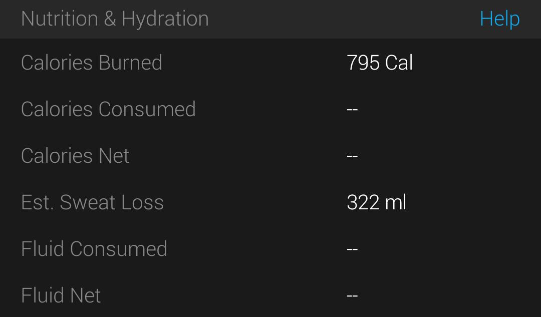 """garmin venu xem xét chất lỏng theo dõi dinh dưỡng và hydrat hóa """"width ="""" 327 """"height ="""" 192"""
