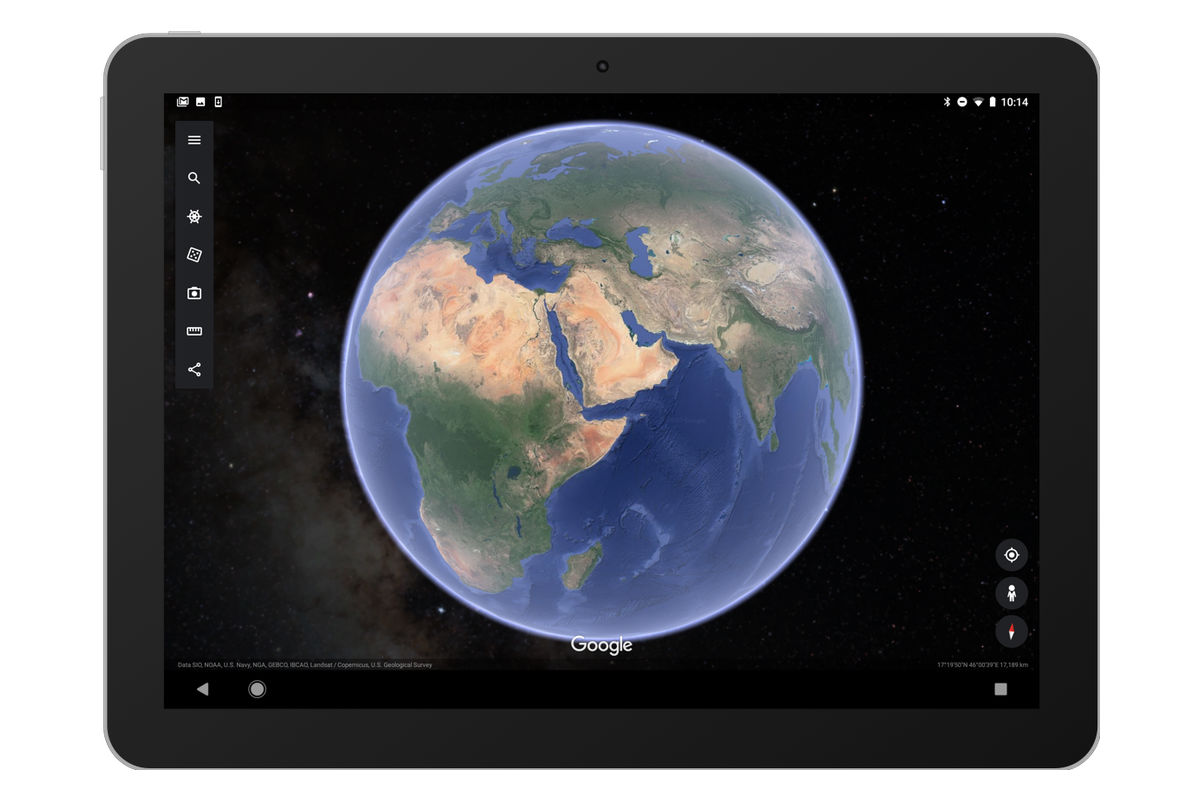 Google Earth dành cho thiết bị di động được cập nhật với chế độ xem đáng yêu của các ngôi sao 2