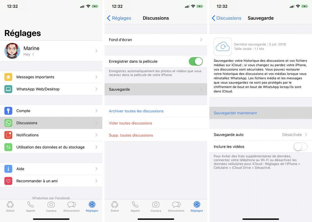 iphone whatsapp lưu ngay Cách khôi phục trò chuyện WhatApp trên iPhone của bạn