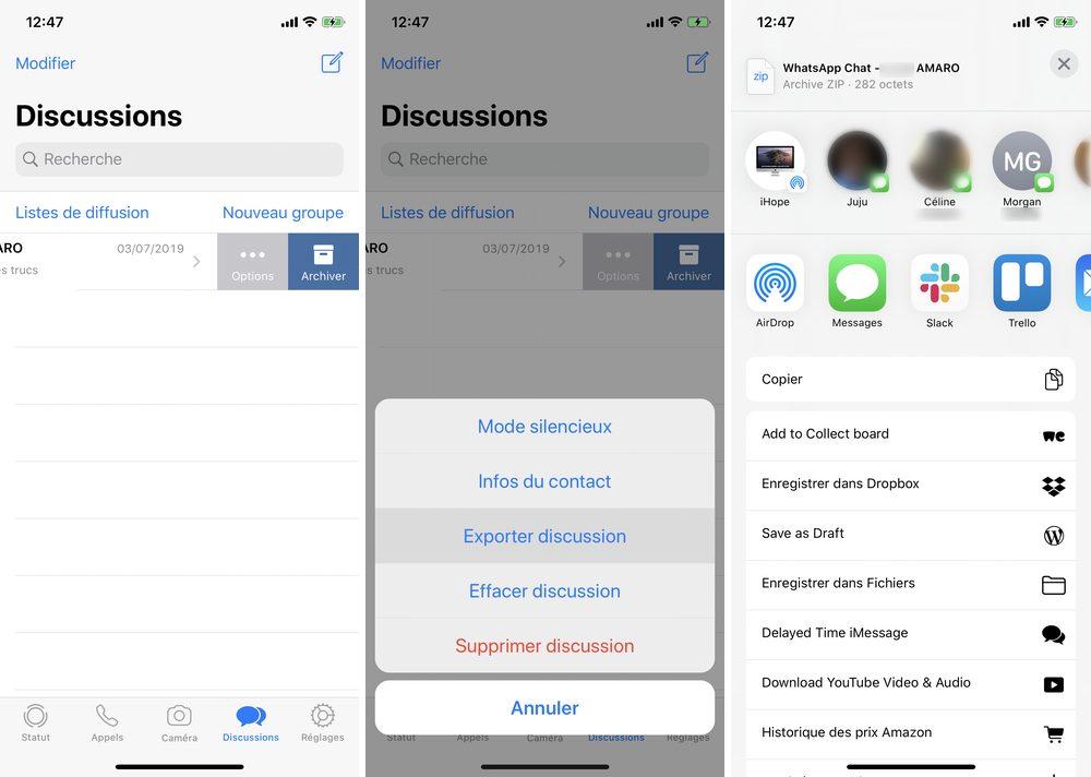 thảo luận về xuất khẩu iphone whatsapp 1 Cách khôi phục trò chuyện WhatApp trên iPhone của bạn