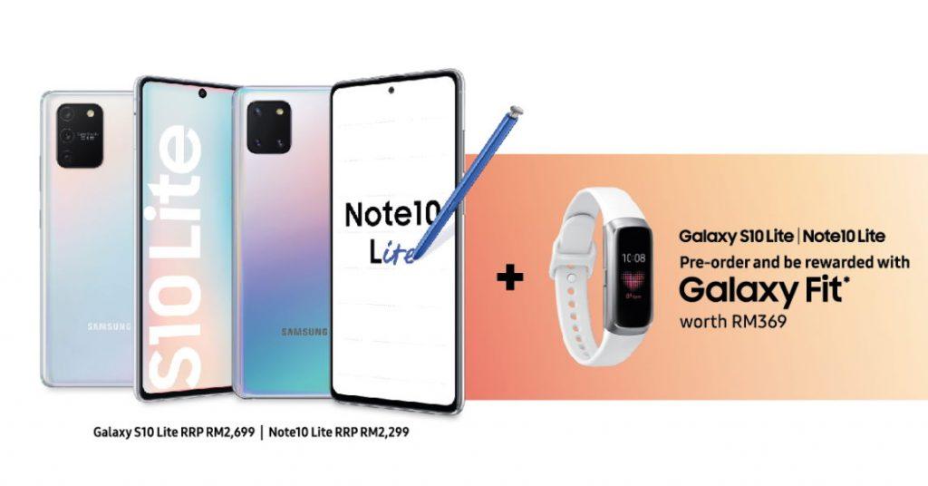 Samsung Galaxy S10 Lite và Note10 Lite sẽ có sẵn từ 2399 RM; Đơn đặt hàng trước Nhận miễn phí Galaxy Phù hợp 2