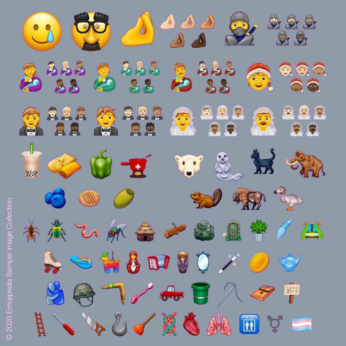 Đây là những biểu tượng cảm xúc mới sẽ đến WhatsApp 2020 2020270279