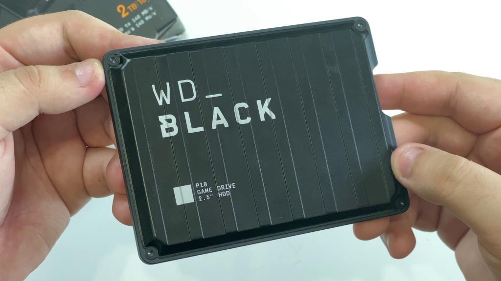 Thiết kế WD Black P10