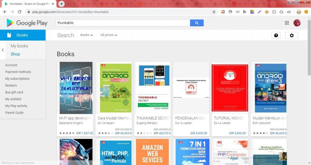Cách tạo Liên kết Sách điện tử trên Google Play Sách đặc biệt trên Blogger. 2