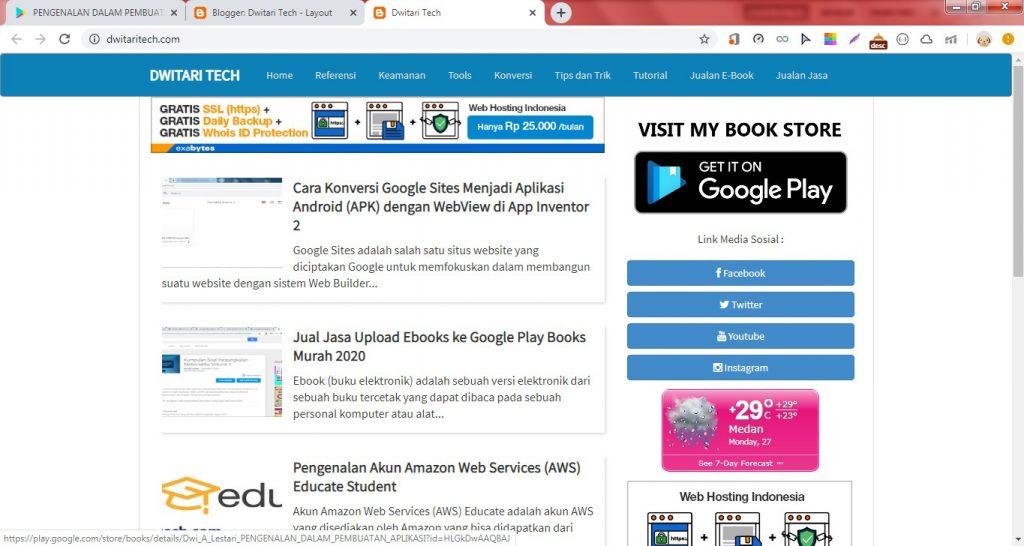 Cách tạo Liên kết Sách điện tử trên Google Play Sách đặc biệt trên Blogger. 10