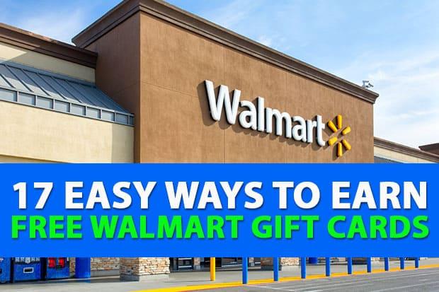 Cách nhận Thẻ quà tặng Walmart miễn phí