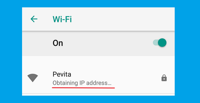 5+ Nguyên nhân và cách khắc phục lấy địa chỉ IP WiFi trên Android 3
