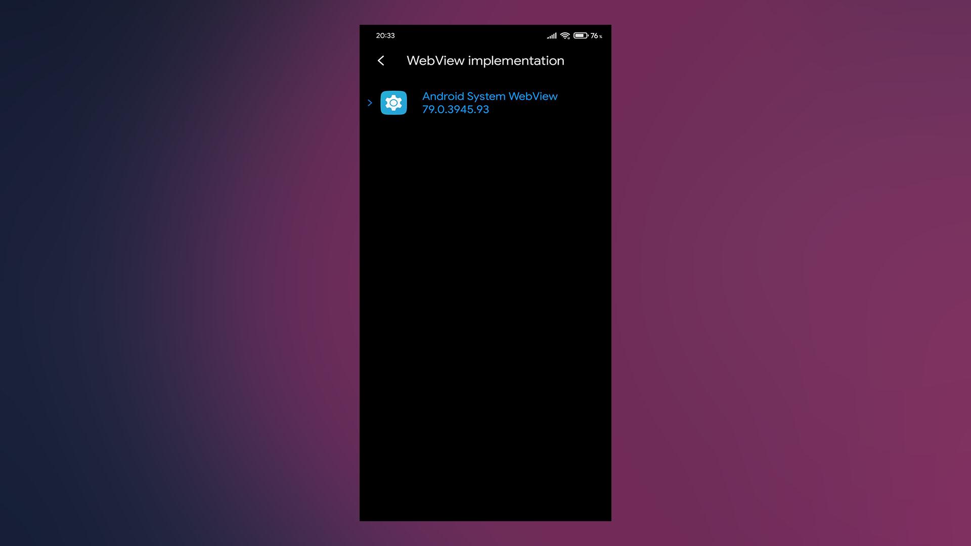 Android System WebView là gì và bạn có nên tắt nó không? 2