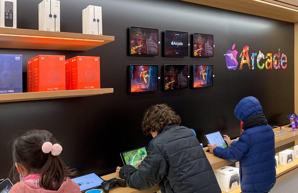 Apple Arcade: thiết kế mới trong Apple mù 2