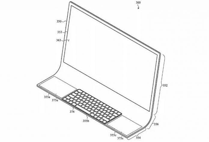 Apple Bằng sáng chế iMac được làm từ một mảnh thủy tinh 1