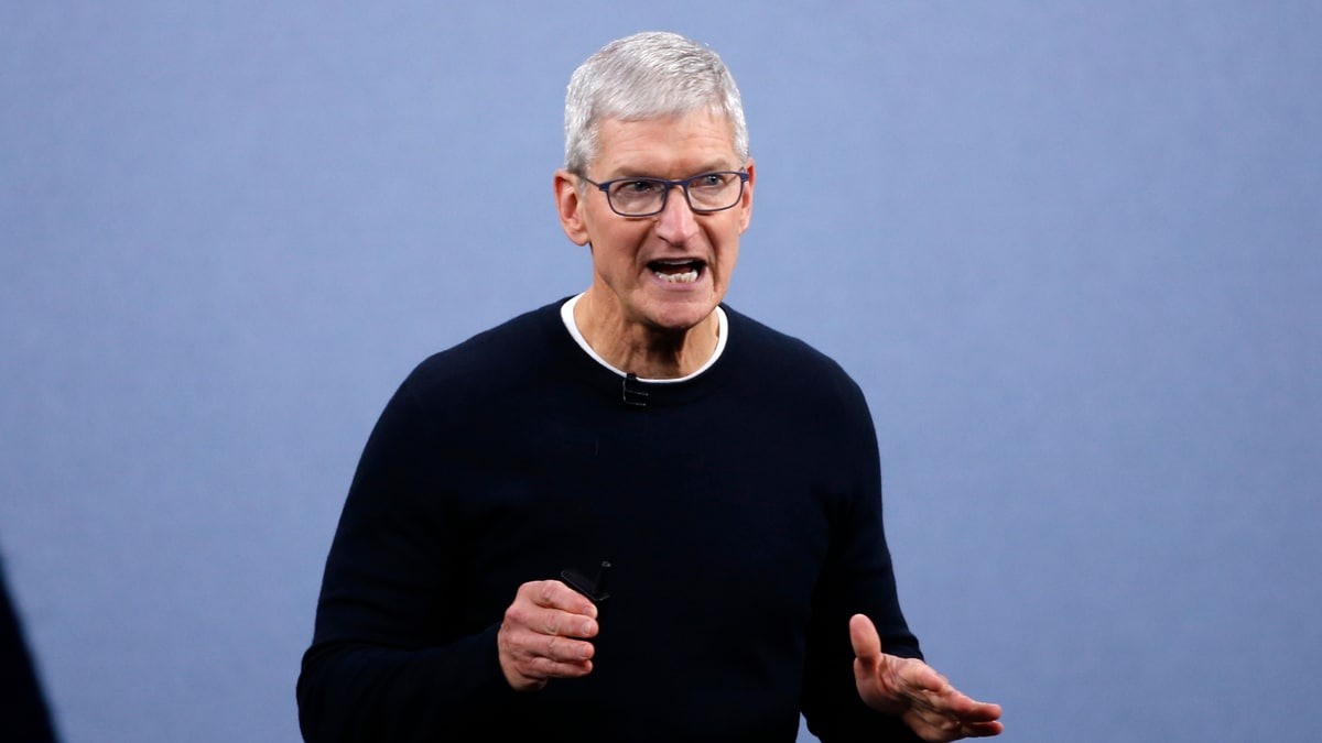 Apple CEO Tim Cook Says Global Corporate Tax System Must Be Overhauled