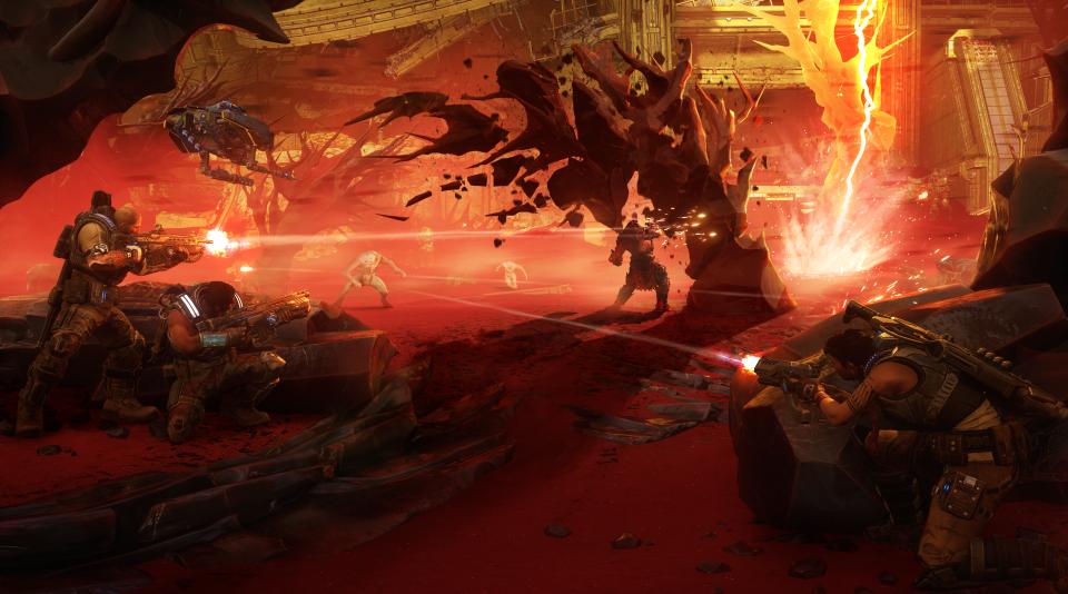 Bánh răng chiến tranh 5: Hình ảnh tuyệt vời, chơi trò chơi thú vị và một câu chuyện thú vị 1