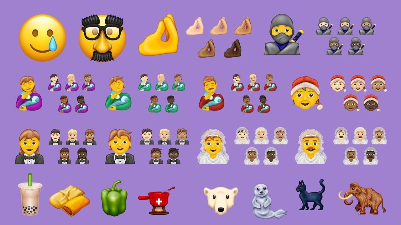 Emoji 13.0: 117 neue Charaktere, Tiere und Lebensmittel für 2020