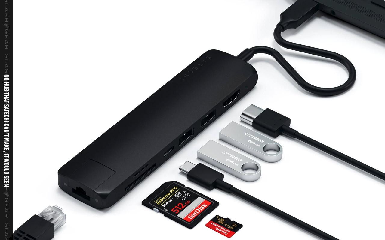 Bộ chuyển đổi đa cổng Satechi USB-C Slim được phát hành với cổng ethernet gigabit 1