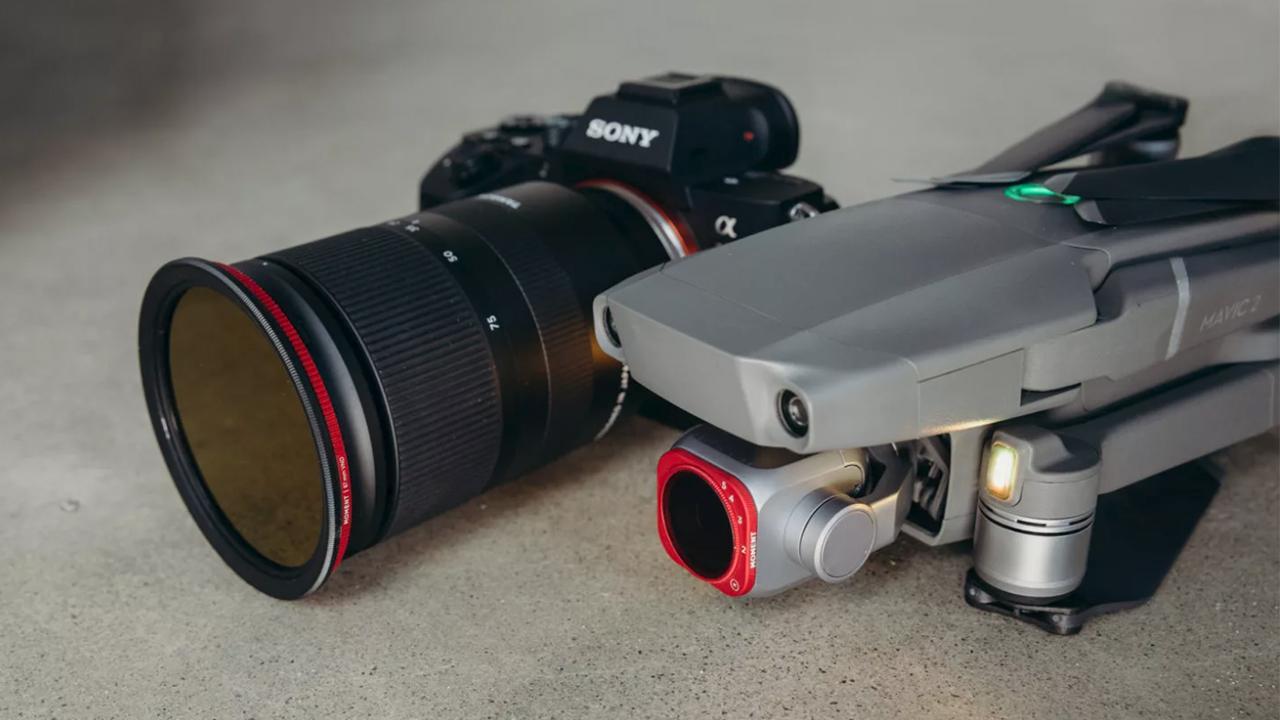 Bộ lọc ND biến đổi cho máy ảnh và DJI Mavic 2 Chuyên nghiệp 1