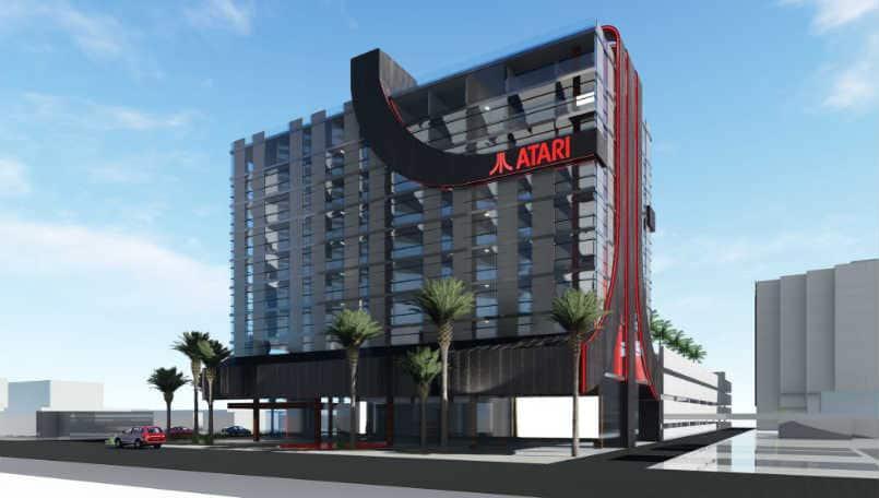 Các khách sạn mang thương hiệu Atari với phòng chơi game và studio esports đến 8 Thành phố của Mỹ 1