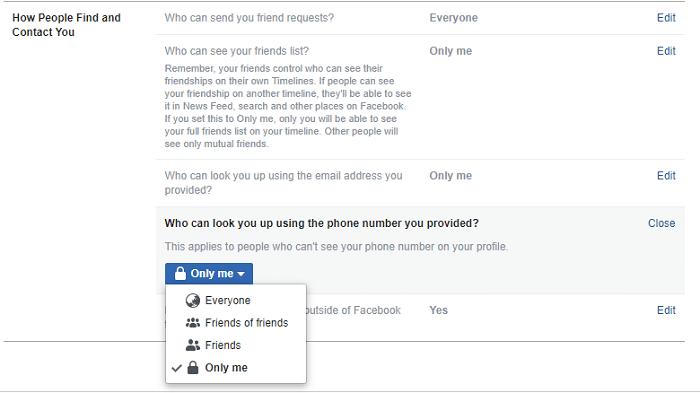 Cách cấu hình Facebook Cài đặt bảo mật để bảo vệ thông tin nhận dạng của bạn 1