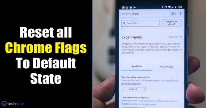 Cách đặt lại cờ Chrome về trạng thái mặc định trên Android và PC