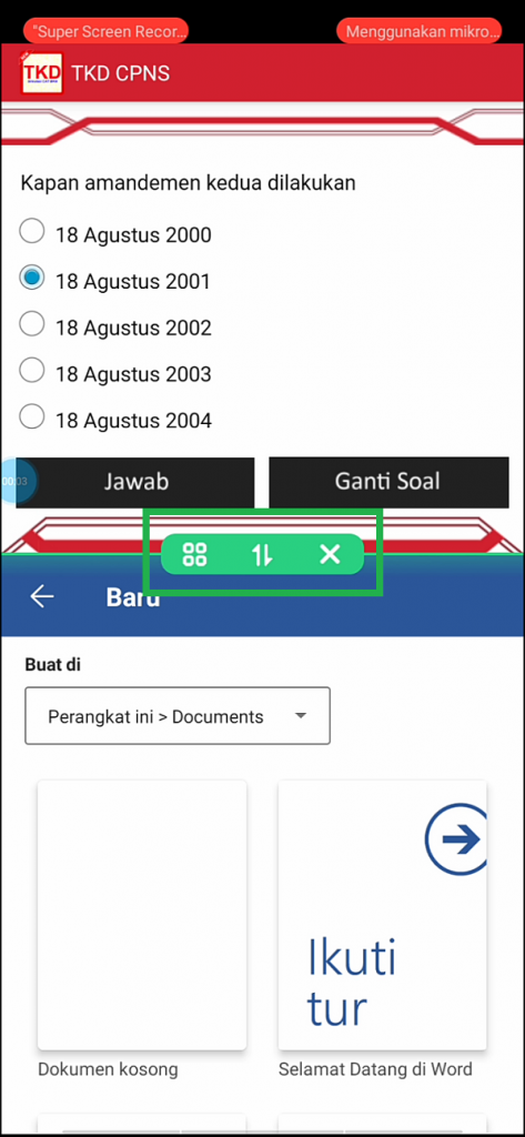 Cách kích hoạt tính năng chia màn hình trong HP Realme 10