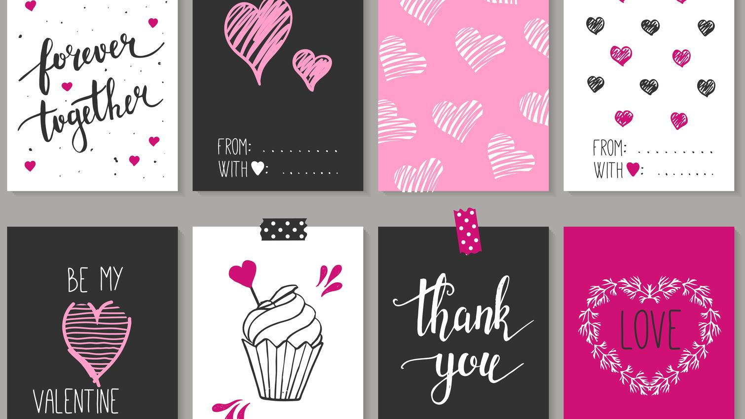 Cách làm thiệp ngày Valentine một cách dễ dàng với nhà cung cấp thẻ ảnh 4