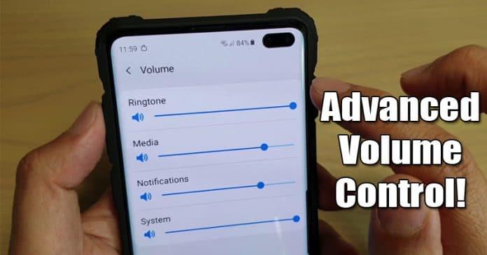 Cách nhận điều khiển âm lượng nâng cao trên Android 1