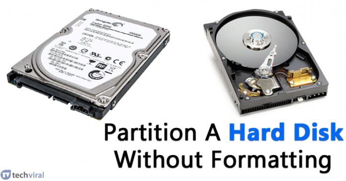 Cách phân vùng đĩa cứng Windows Không có định dạng 3