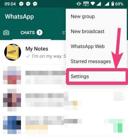 Cài đặt whatapp