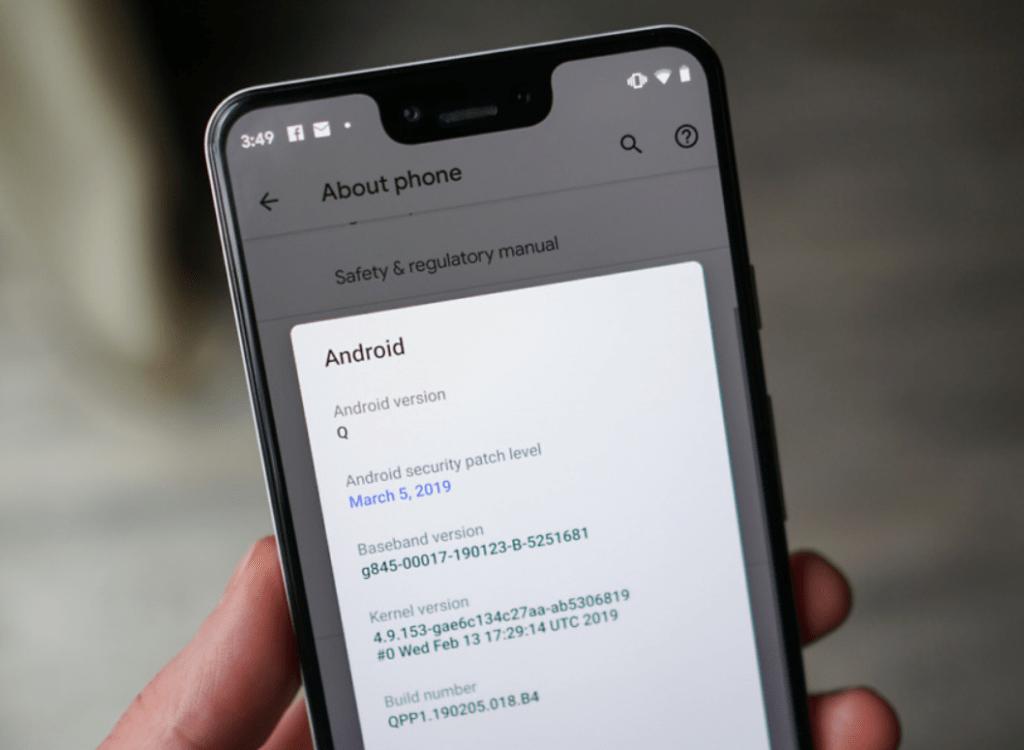 Cập nhật Google Pixel 4 XL vào phiên bản mới nhất Cập nhật phần mềm OTA 1