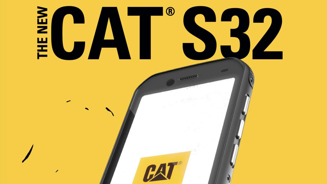 Cat S32: Điện thoại thông minh ngoài trời IP68 với MIL-STD-810G với giá 299 euro