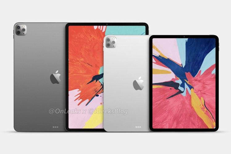 Chất lượng iPad Pro 2020 hiển thị cho thấy hệ thống camera ba giống như iPhone 11 Pro 1