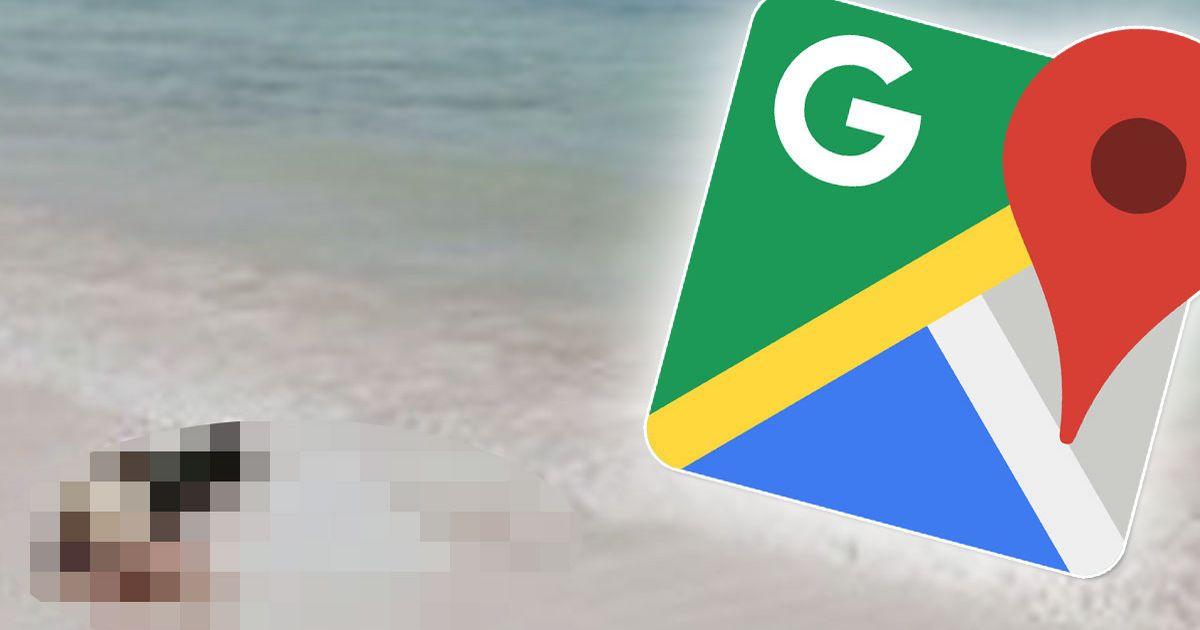 Chế độ xem phố của Google Maps chụp ảnh cặp đôi vụng về trong thời gian & # 039; thân mật & # 039; chụp ảnh 1
