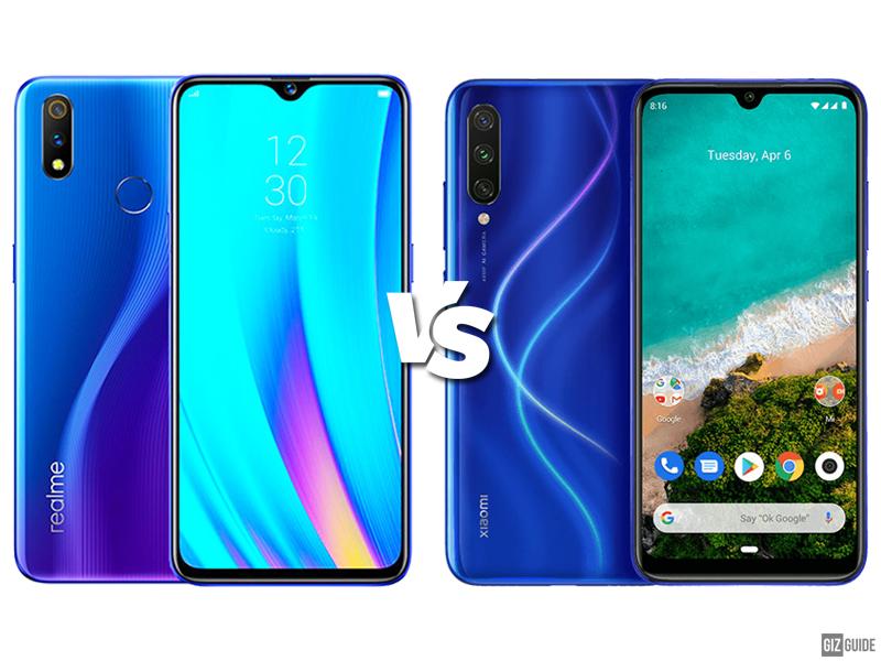 Chính tôi 3 So sánh thông số kỹ thuật giữa Pro và Xiaomi Mi A3