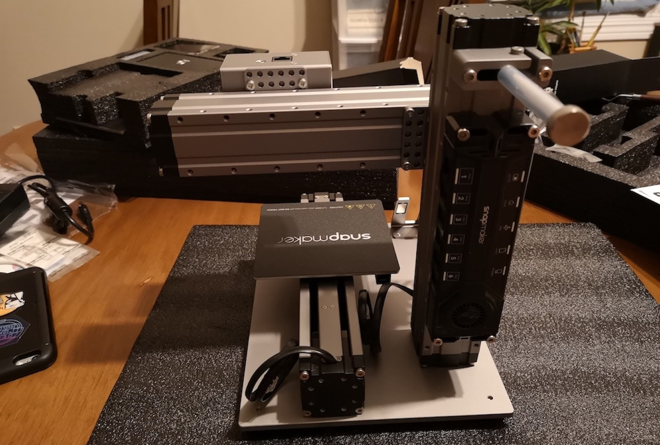 Đánh giá máy in 3D của Snapmaker - Sản xuất gia dụng trong hộp 1