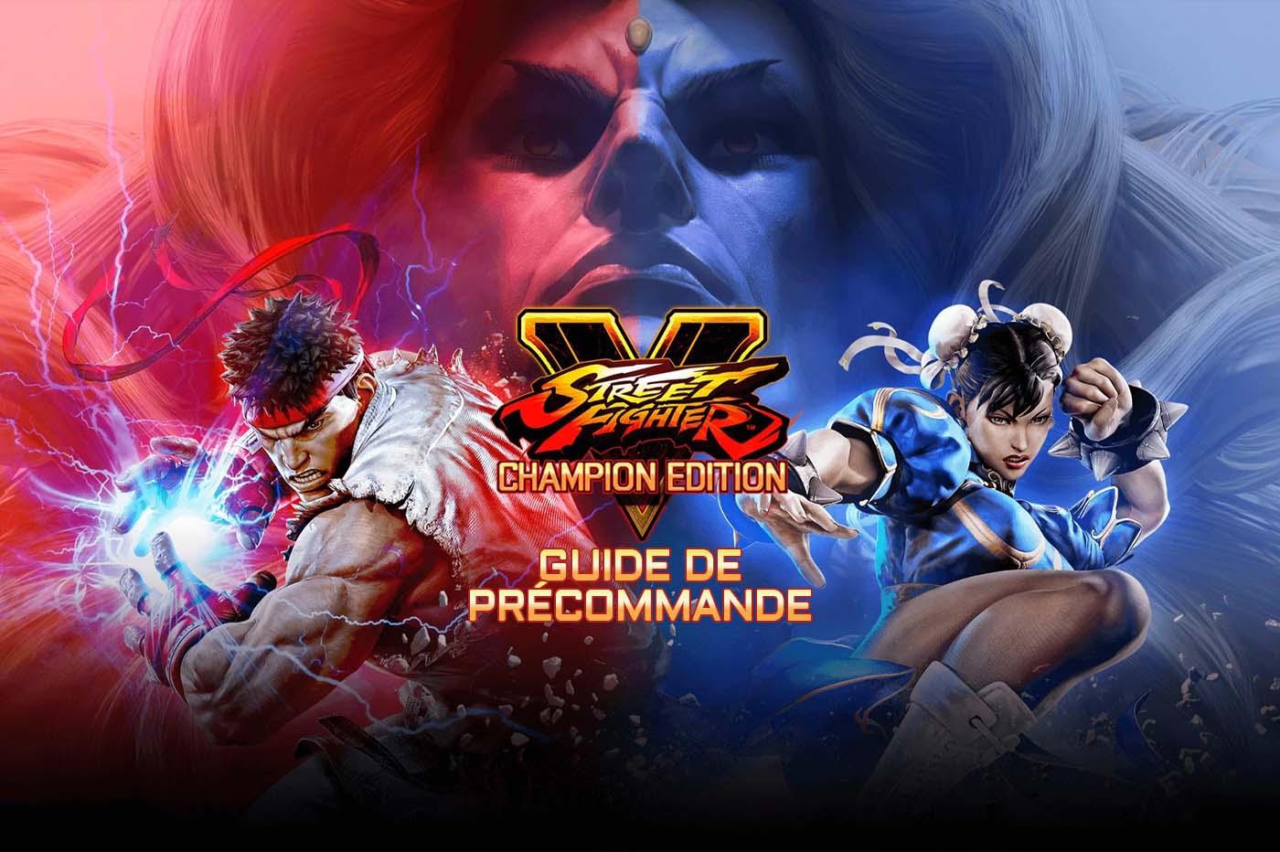 Hướng dẫn đặt hàng trước Street Fighter V Champion
