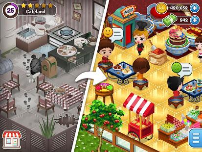 Descargar Bếp thế giới Cafeland v 2.1.21 Mod Mod 1