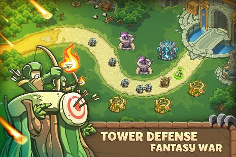 Empire Warriors Tower Defense TD Trò chơi chiến lược V 2.1.7 MOD MOD 1