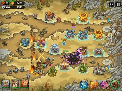 Empire Warriors Tower Defense TD Trò chơi chiến lược V 2.1.7 MOD MOD 7