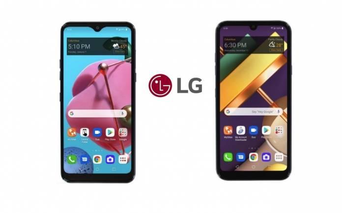 Điện thoại ngân sách LG L555DL và L455DL