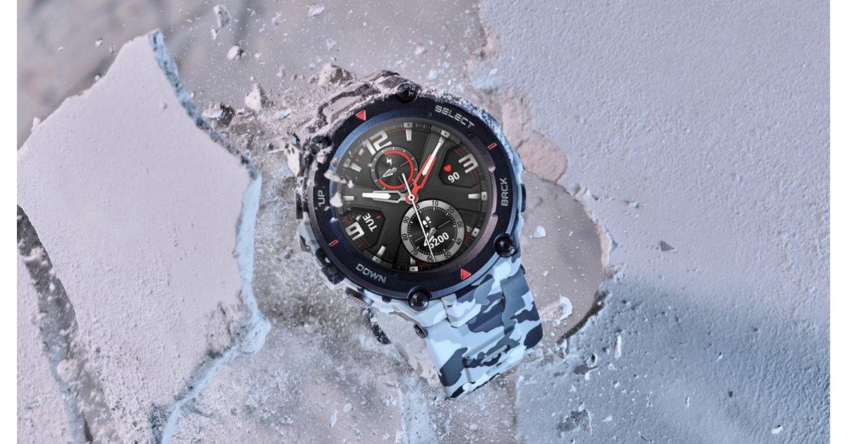 Đồng hồ thông minh Amazfit T-Rex và Bip S hạ cánh tại CES 2020 - với trọng tâm sức khỏe lớn 1
