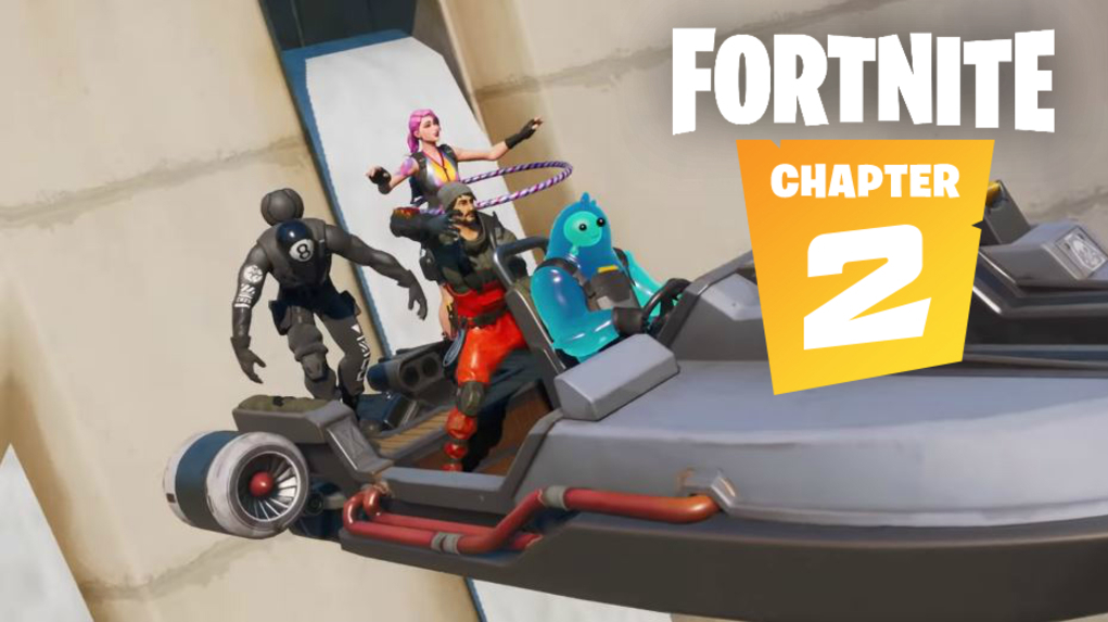 Fortnite streamer đạt được mánh khóe điên rồ nhất của Chương 2 1