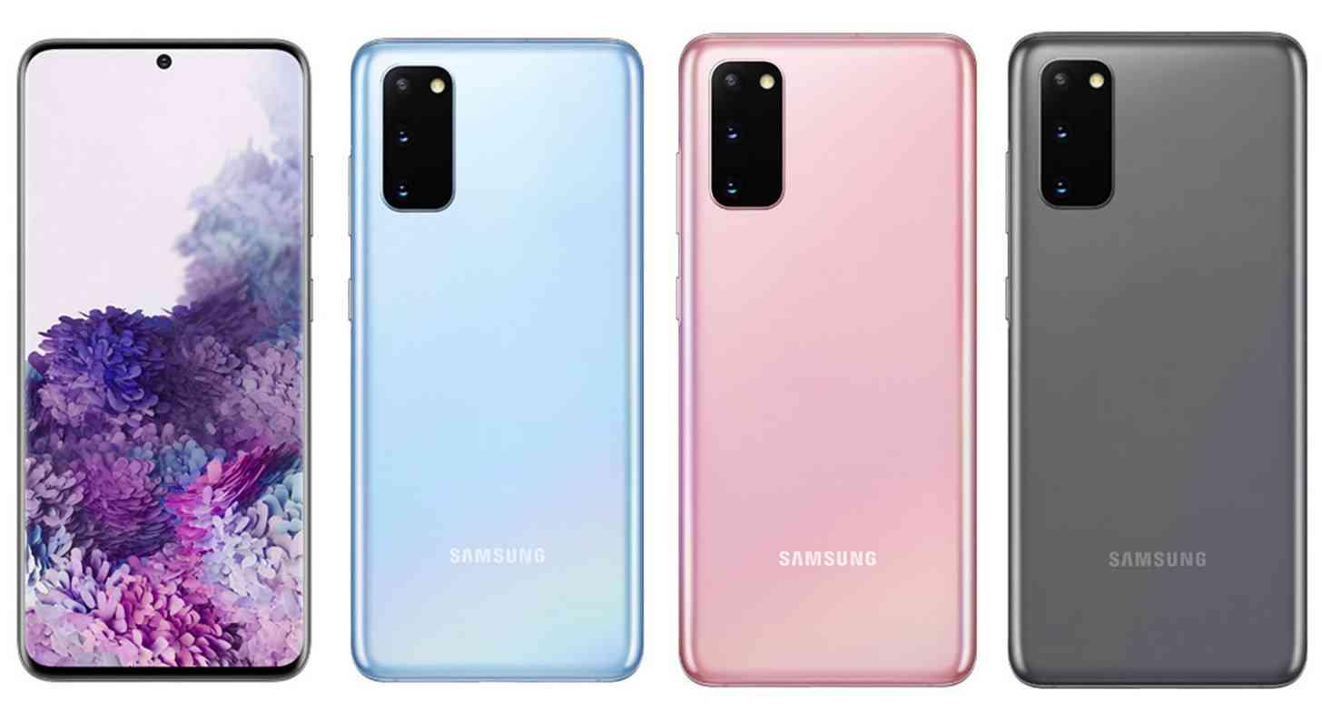 Galaxy  S20 màu rò rỉ